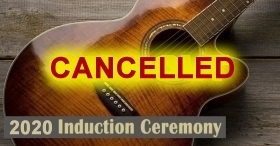 September Hall of Fame Induction Event Cancelled
